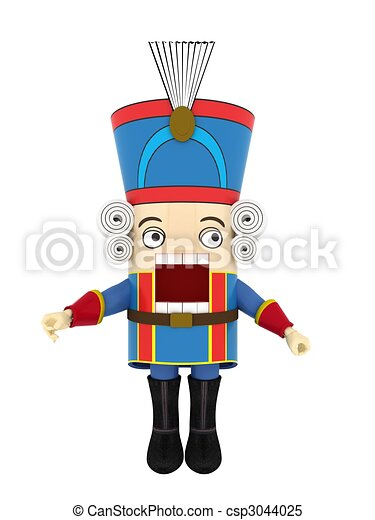 stock illustrations of nutcracker csp3044025 search nutcracker clip art soldier nutcracker clipart black and white vector