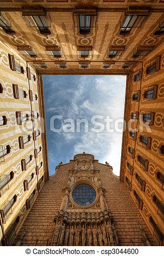 Monastery Montserrat, Spain - csp3044600