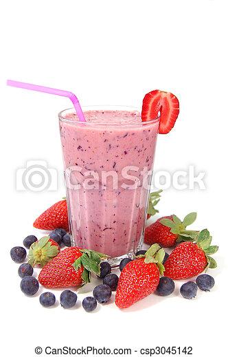 Berry smoothie - csp3045142