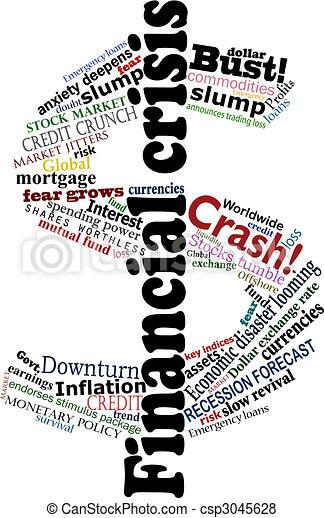 Crisis dollar - csp3045628