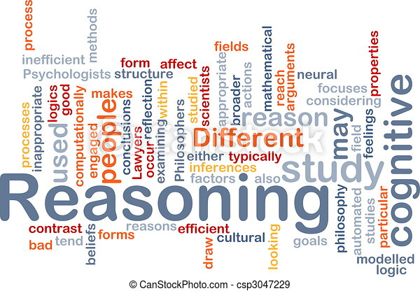 Cognitive reasoning background concept - csp3047229