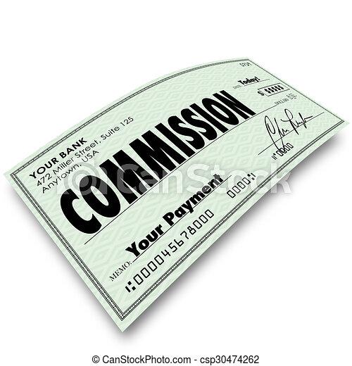 commission deutsch