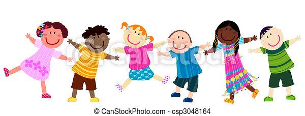 happy kids - csp3048164