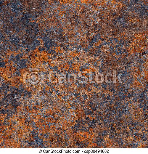 Rust metal - csp30494682