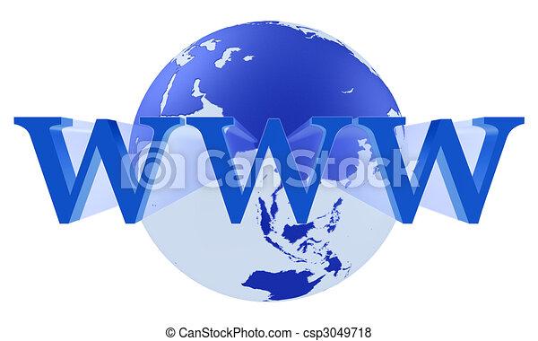 Internet WWW Concept - csp3049718