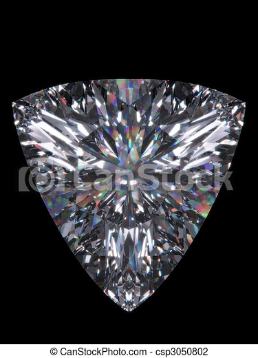 Diamond trillion cut - csp3050802