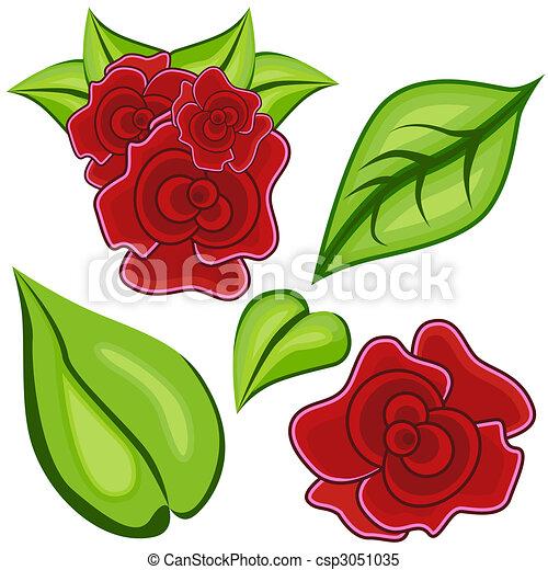 Hojas de rosas  Imagui