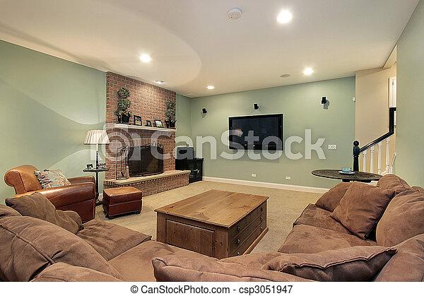 Lower level basement - csp3051947