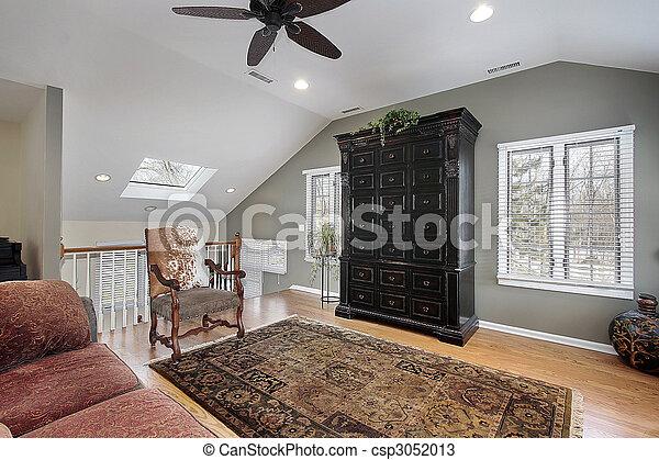 Second floor family room - csp3052013