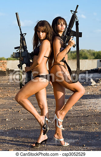sexy naked women - csp3052529