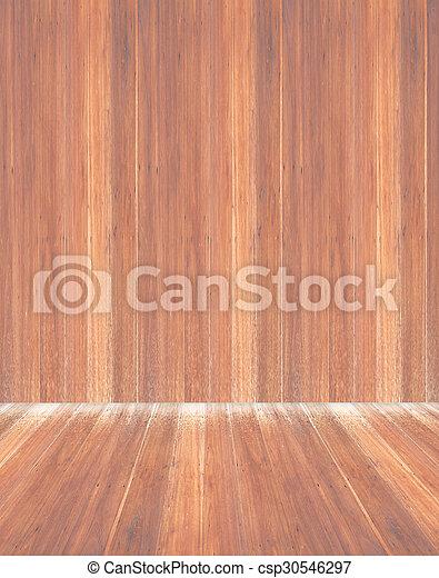 Wooden wall - csp30546297