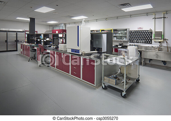 Biology laboratory - csp3055270