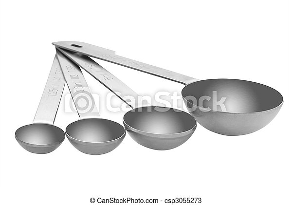 Measuring spoons - csp3055273
