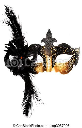 Ornate carnival mask - csp3057006