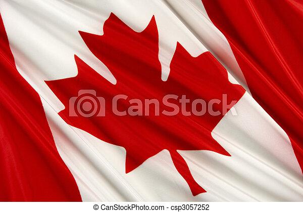 Canadian flag - csp3057252