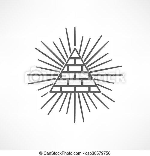 Pyramid - csp30579756