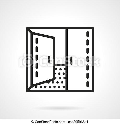 Open Double Door Drawing perfect open double door drawing and decor