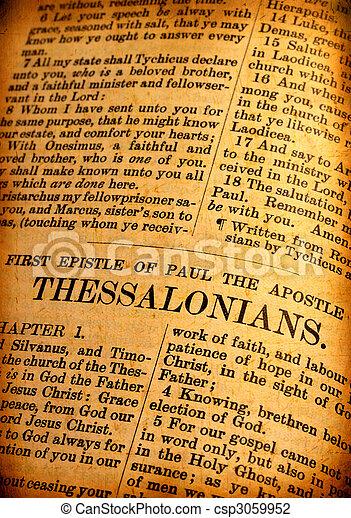 Holy bible - csp3059952