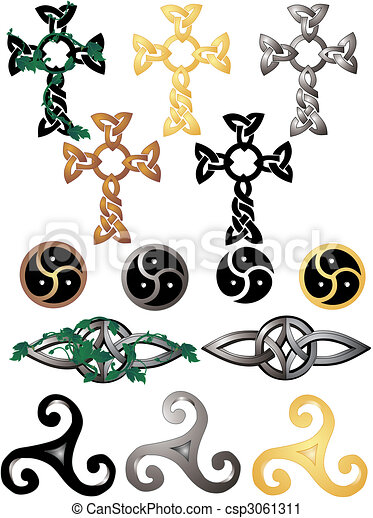 Celtic Knots and symbols - csp3061311