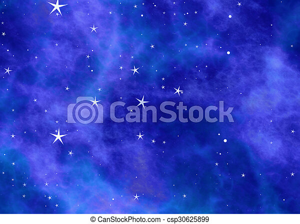 small stars in a sky on space clouds backgrounds