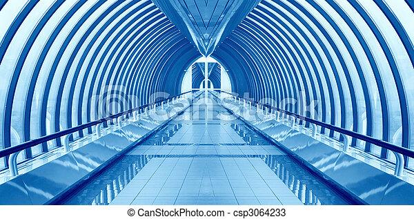 bridge way interior nobody - csp3064233