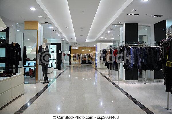 Laden, Kleidung - csp3064468