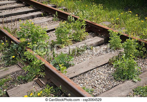 Forgotten railway - csp3064529