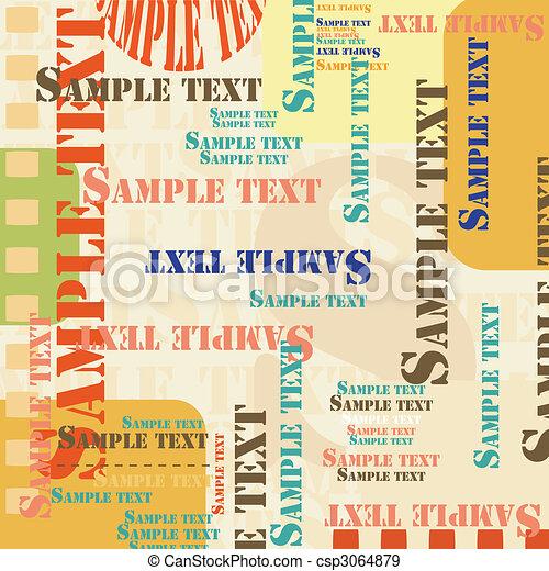 Sample text - csp3064879