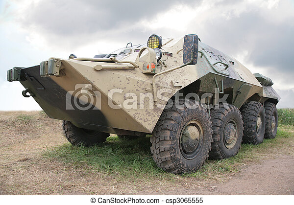 Russian armored infantry fighting vehicle - csp3065555