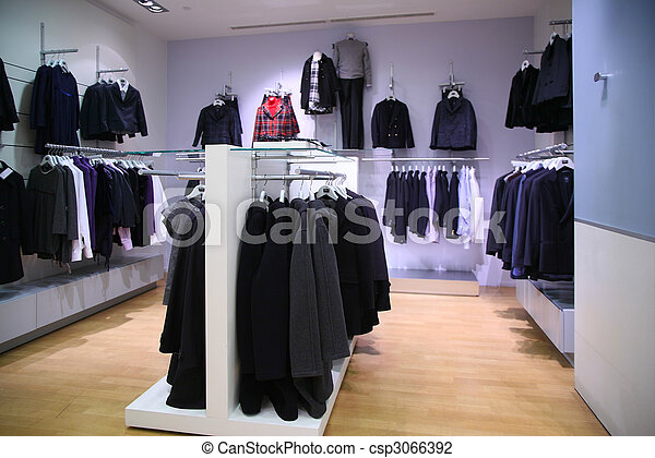 clothing department - csp3066392