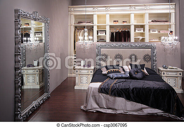 Luxury bedroom - csp3067095