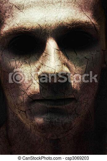Ugly face - csp3069203