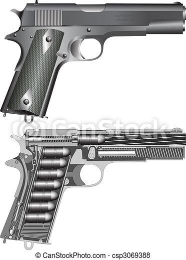 Pistol Cheme - csp3069388