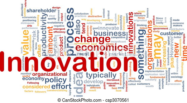 Innovation business background concept - csp3070561