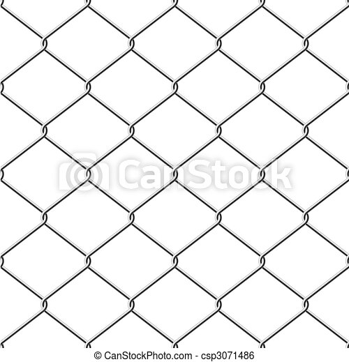 Chainlink fence seamless background - csp3071486