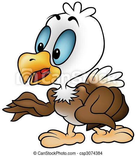 Little Bald Eagle - csp3074384