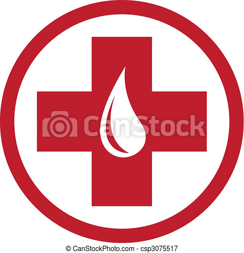 Blood Donation Emblem Template - csp3075517