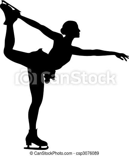 Figure skating - csp3076089