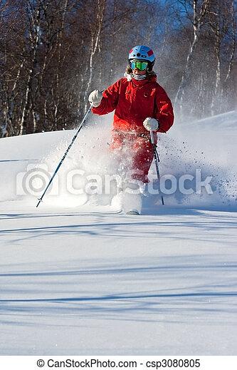 Freeride in Siberia - csp3080805