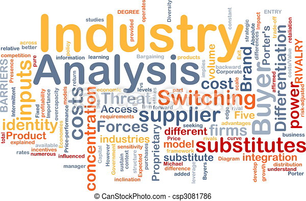 Industry Analysis Background Concept Clip Art Instant Download – Industry Analysis