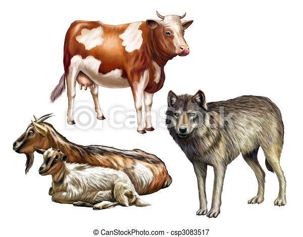 Stock illustration wildlife ii stock illustration royalty free