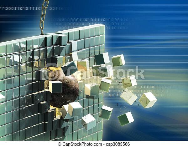 Data destruction - csp3083566