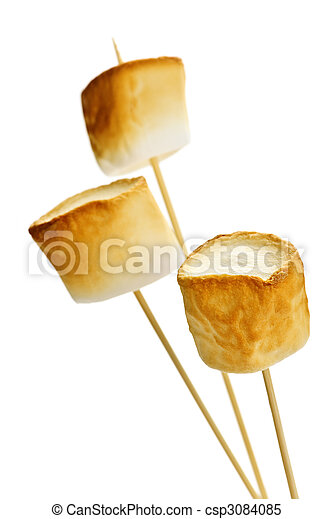 Toasted marshmallows - csp3084085