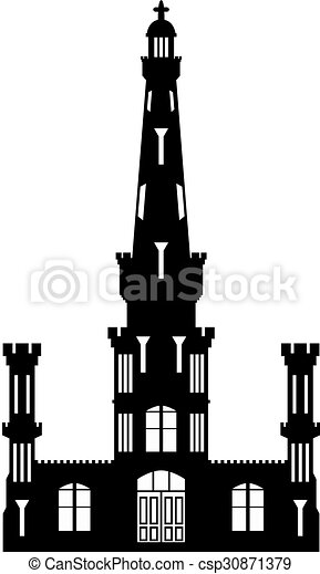 Vectors Illustration of Chicago Water Tower - Illustrated ...