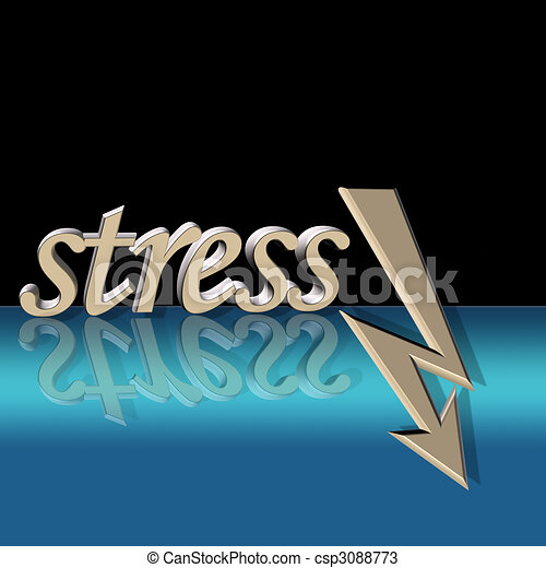 stress down - csp3088773