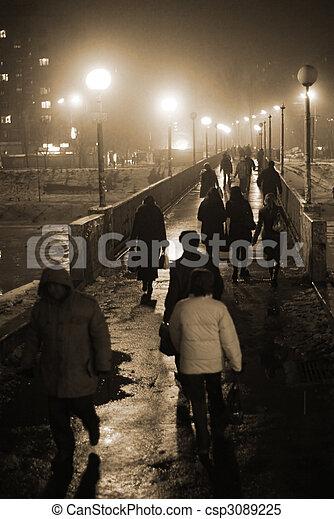 City commuters - csp3089225