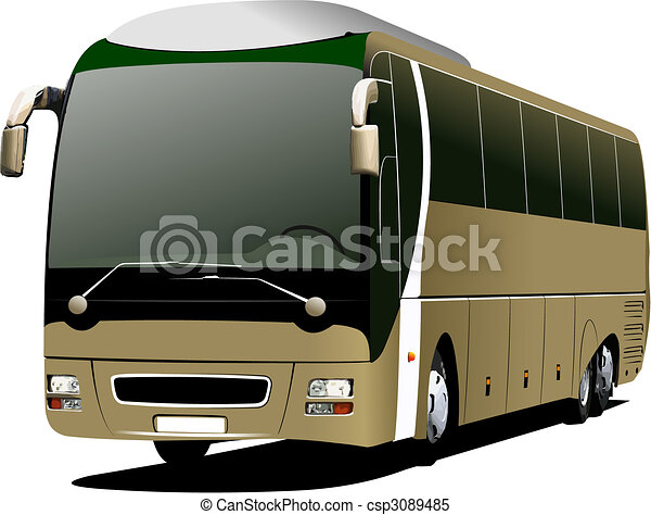 Tourist coach - csp3089485