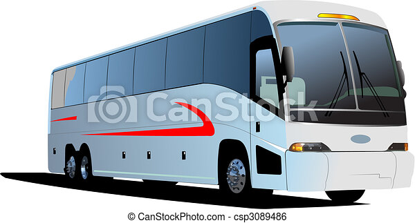 Tourist coach - csp3089486