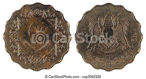 gammal, Arab, mynt - csp3092328