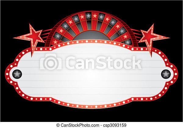 Roulette neon - csp3093159